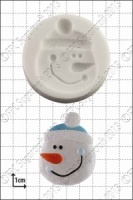 'Snowman Face' Silicone Mould