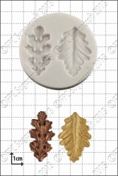 'Stylised leaves' Silicone Mould