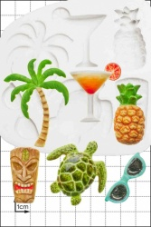 'Tropical' Silicone Mould