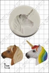 'Unicorn Head' Silicone Mould