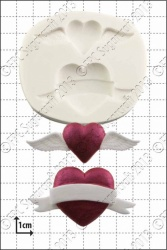 'Valentine Hearts' Silicone Mould