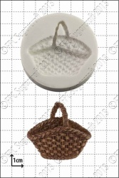 'Wicker Basket' Silicone Mould