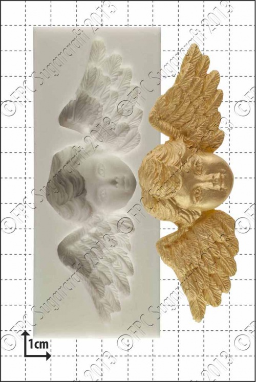 'Winged cherub' Silicone Mould