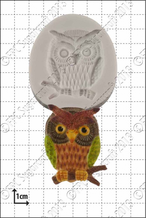 'Wise Owl' Silicone Mould