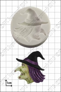 'Witch's Head' Silicone Mould