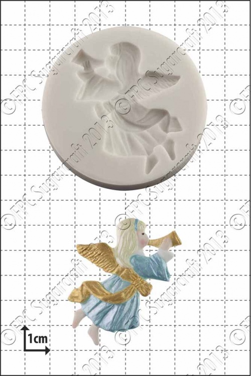 'Xmas Angel' Silicone Mould
