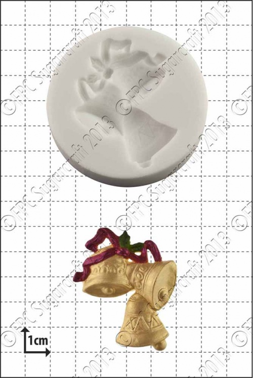 'Xmas Bells' Silicone Mould