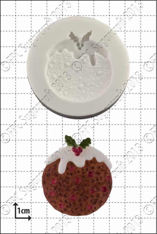 'Xmas Pudding' Silicone Mould