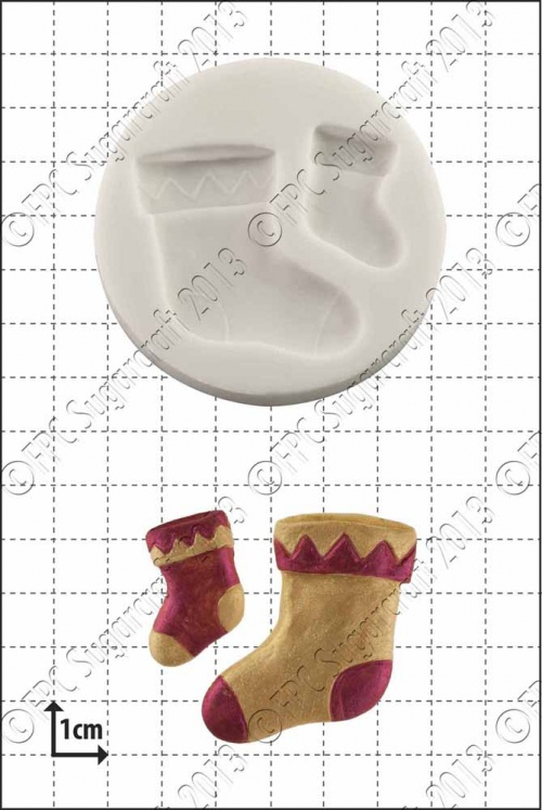 'Xmas Stockings' Silicone Mould