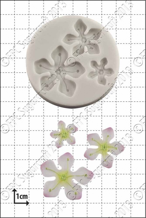 'Fantasy Flowers' Silicone Mould