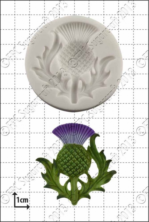 'Scottish thistle' Silicone Mould