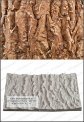 'Bark Texture Mat' Silicone Mould