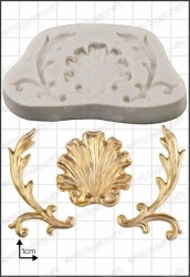'Baroque Shell' Silicone Mould