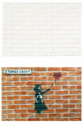 'Brick Wall' Silicone Mould