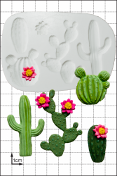 'Cactus' Silicone Mould