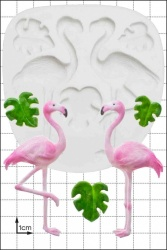 'Flamingos' Silicone Mould