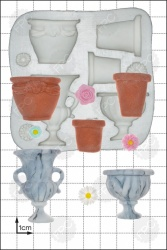 'Garden Urns' Silicone Mould