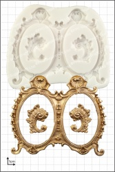 'Large Double Frames' Silicone Mould