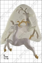 'Leaping Deer' Silicone Mould