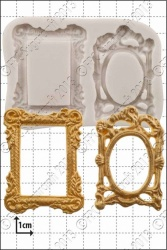 'Picture Frames' Silicone Mould