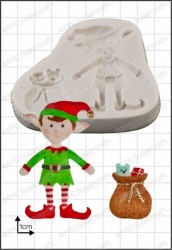 'Xmas Elf' Silicone Mould